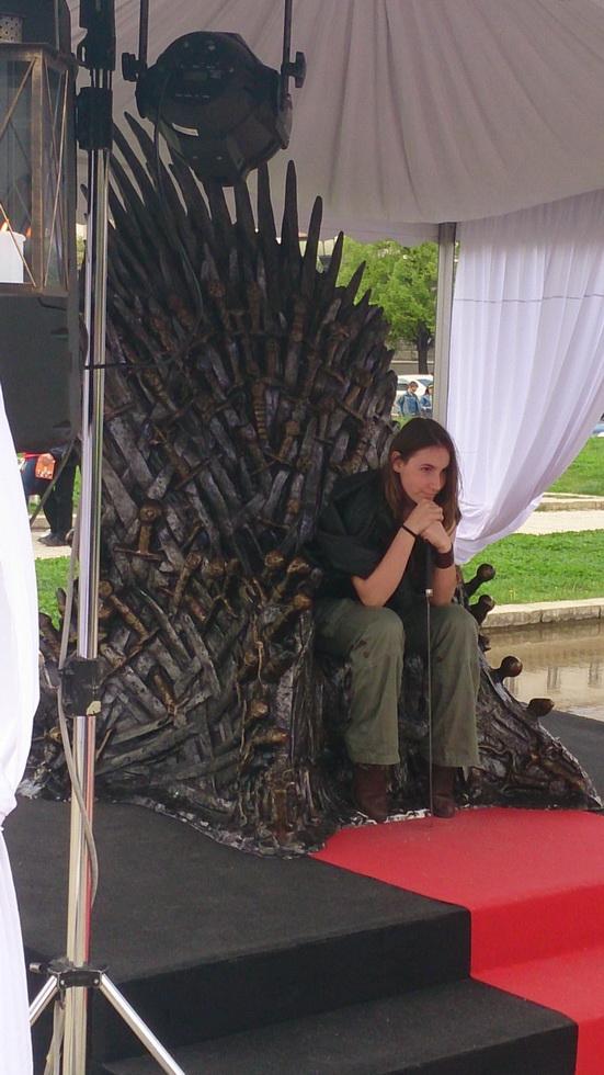 Случаен човек на трона